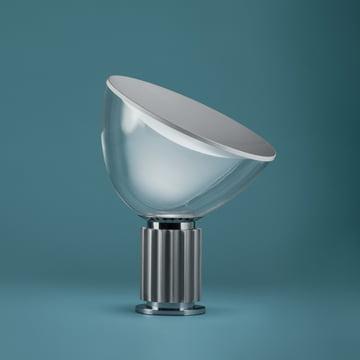 Die Taccia small LED Tischleuchte in Aluminium eloxiert von Flos