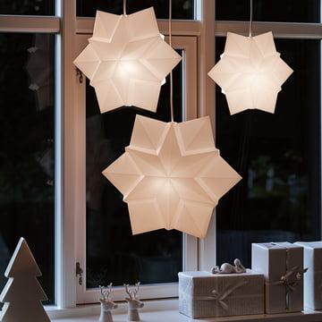 Stern-Leuchte für Hurricane Sandy