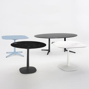 Multiplo Tisch-Serie von Kartell