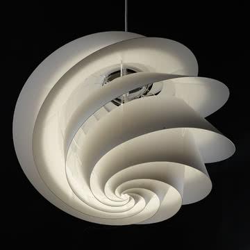 Wirbelnde Leuchte von Øivind Alexander Slaatto