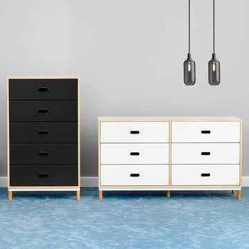 Kabino Sideboards mit fünf oder sechs Schubladen