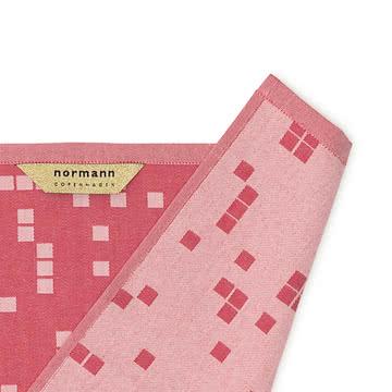 Gitter, Pixel, Kreise, Rechtecke und Karos zieren die Geschirrtücher
