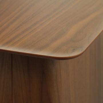 Tischplatte des Wooden Side Tables von Vitra