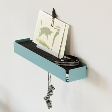 SL35 Key-Box Schlüsselbox in Türkis und Grau