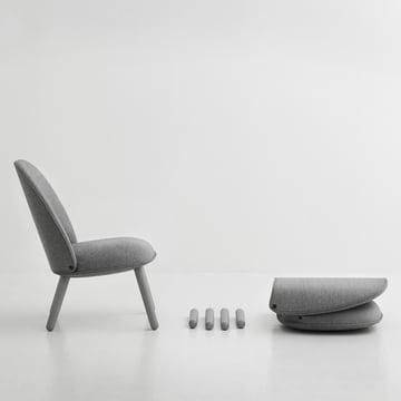 Stühle zum Auseinanderbauen