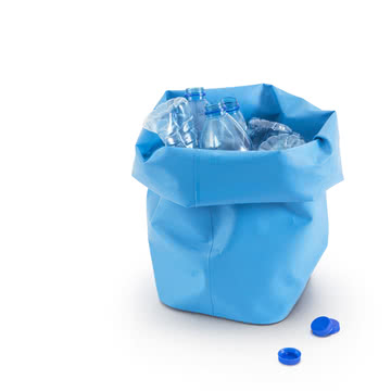 Sammelplatz für Pfandflaschen
