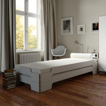 Die Müller Stapelliege - minimalistisch leben in weiß