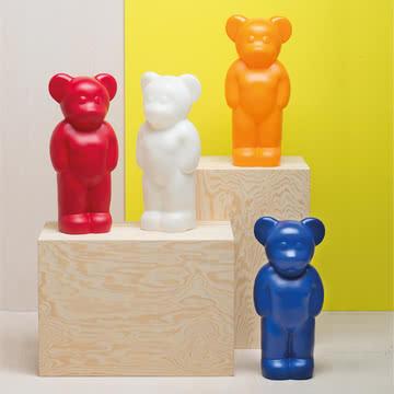 Die Lumibär-Lampen von Authentics in verschiedenen bunten Farben