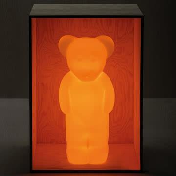 Lumibär-Lampe in Gelb-Orange von Authentics