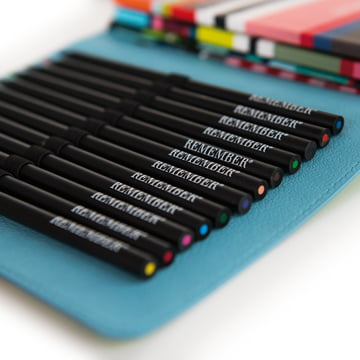 DailyBook mit Stiften von Remember