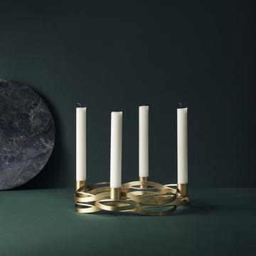 Tangle Advent Kerzenhalter von Stelton