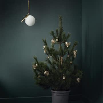 Tangle Christbaumschmuck von Stelton