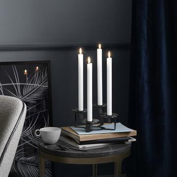 Lumi Kerzenständer als Adventskranz