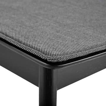 Pause Sitzkissen von Woud in Grau