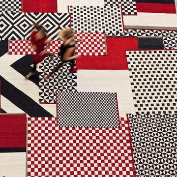 Mélange Teppiche Pattern, Colour und Zoom