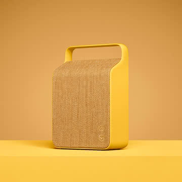 Vifa - Oslo Lautsprecher, sand yellow