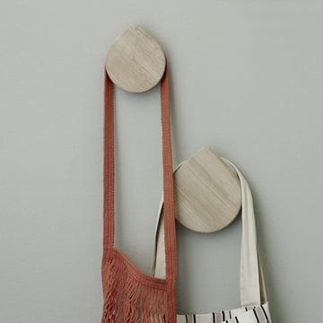 Regn Hooks von Skagerak aus Eichenholz