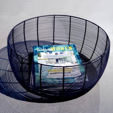Dora Basket mit Zeitschriften