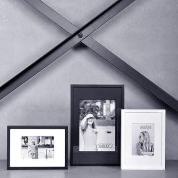 Berlin Frame von XLBoom in Schwarz und Weiß