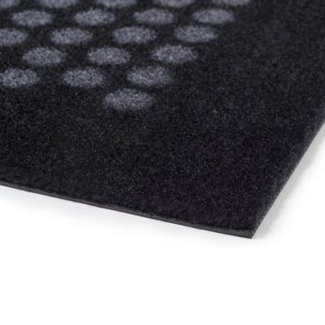 Die tica copenhagen - Dot Fußmatte in schwarz / grau