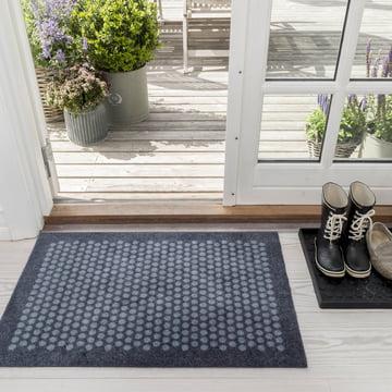 Die tica copenhagen - Dot Fußmatte in grau, 60 x 90 cm