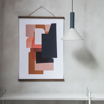 Abstraction Poster von ferm Living