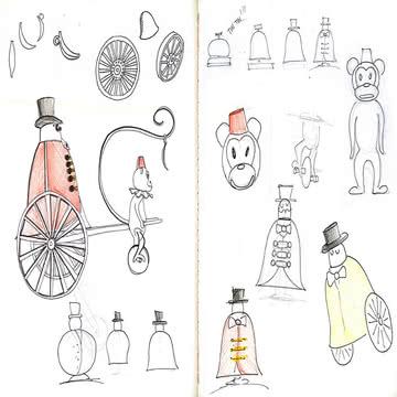 Skizzenbuch von Marcel Wanders