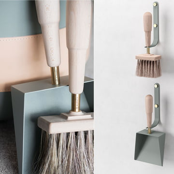 kehrblech und handfeger emma von eldvarm. Black Bedroom Furniture Sets. Home Design Ideas