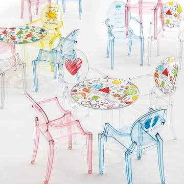 Lou Lou Ghost Special Edition und Tip Top Kindertisch