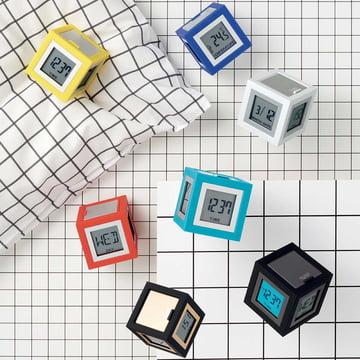 Cubissimo LCD-Wecker von Lexon