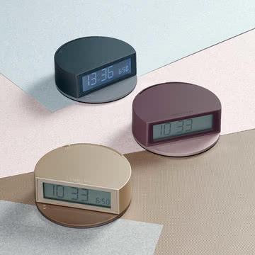 Fine Clock von Lexon aus ABS und Metall
