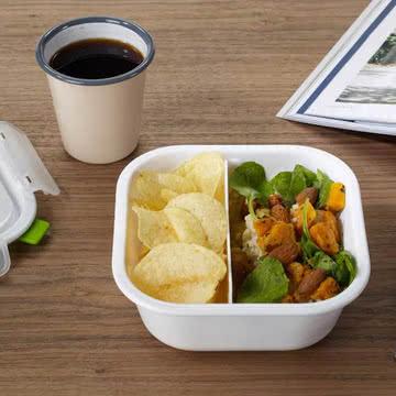 Lunch Box quadratisch von Black + Blum