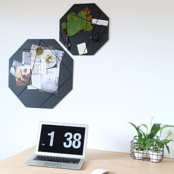 Pinboard von Nichba Design in Schwarz