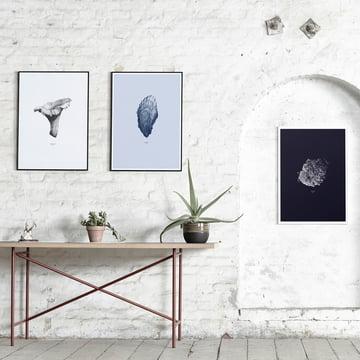 Paper Collective - 1:1 Hailstone(dunkelblau) / 1:1 Oyster (hellblau) / 1:1 Chanterelle (weiß)