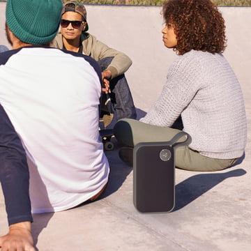Der Libratone - One Style Bluetooth-Lautsprecher, graphite grey