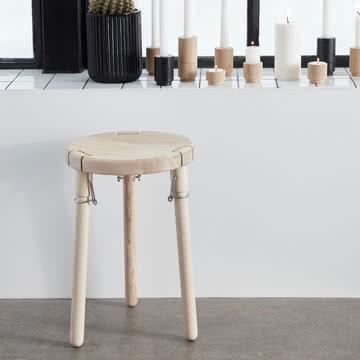 U1 Hocker und Create Me Kerzen- und Teelichthalter von Andersen Furniture