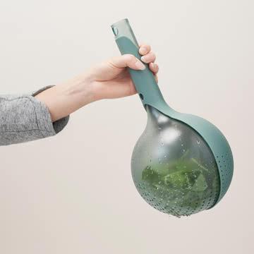 Rig-Tig by Stelton - Drop Durchschlag, grün