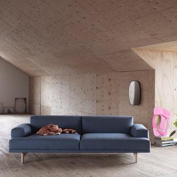 Muuto - Compose Sofa, 2-Sitzer