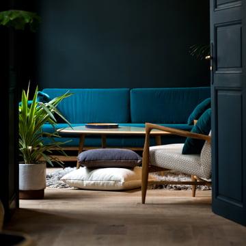 Das Sofa 210 in dunkler Umgebung