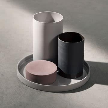 Die moderne Cylindrical-Serie von Menu