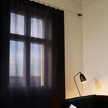 Ready Made Curtain Vorhang in Dunkelblau