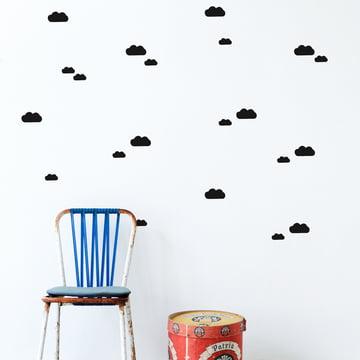 Mini Clouds Wallstickers von ferm Living
