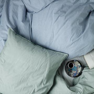 Hush Bettwäsche und Coupled Tablett von ferm Living