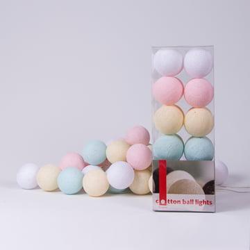 Lichterkette Pastel von Cotton Ball Lights