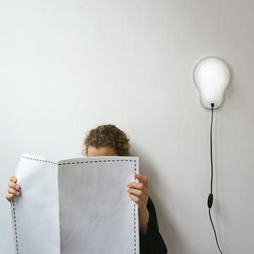 Sticky Lamp von Droog Design in Weiß