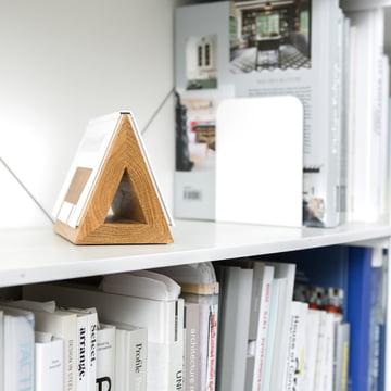 Holz-Dreieck - Lesezeichen für Taschenbücher