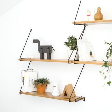 Wandregal für Bücher, Accessoires und Pflanzen