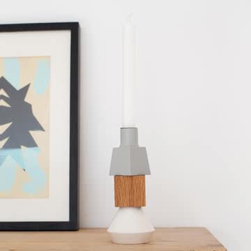Wood Lights Kerzenständer von Spring Copenhagen