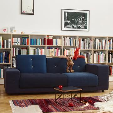 Polder Compact Sofa von Vitra in Nachtblau