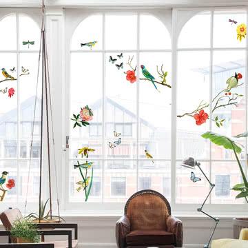 Lekkerplèkkuh Fensterdekoration Tjilp von Fatboy